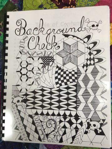 Background Check - By Dusty Farrell - Sparrow Quilt Co.