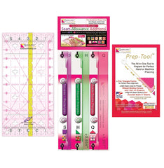 Guidelines Ruler + Seam Allowance Additions + Prep Tool Set