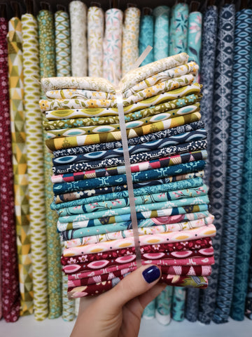 Nova by Basicgrey for Moda 25 piece Fat Quarter Bundle