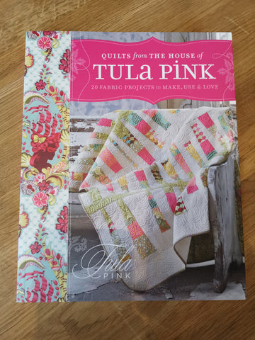 Bradie's De-Stash: Quilt from the House of Tula Pink