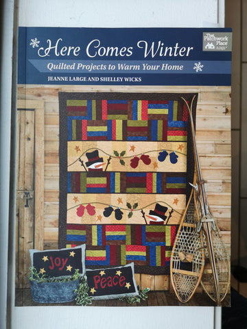 Bradie's De-Stash: Here Comes Winter book by Jeanne Large and Shelley Wicks