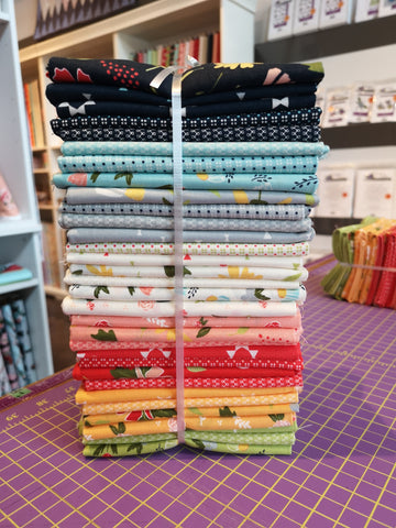 Clover Hollow Fat Quarter Bundle by Chelsi for Moda