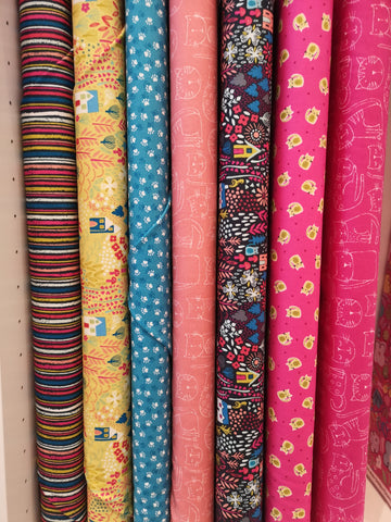 Kitty Fat Quarter Bundle by Makower UK