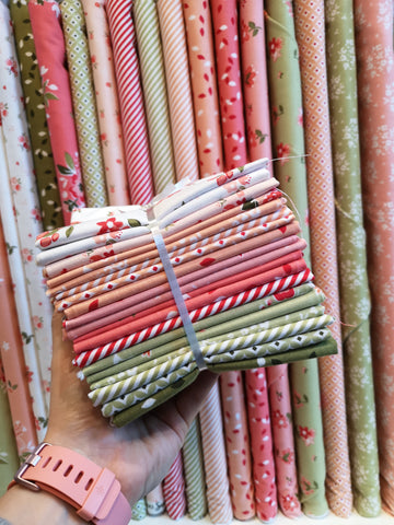Summer Blush Fat Quarter Bundle by Riley Blake Designs