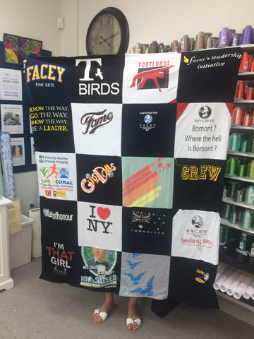5 Day T-Shirt Quilt Challenge