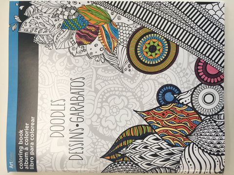 Doodles: Art Zone Coloring Book