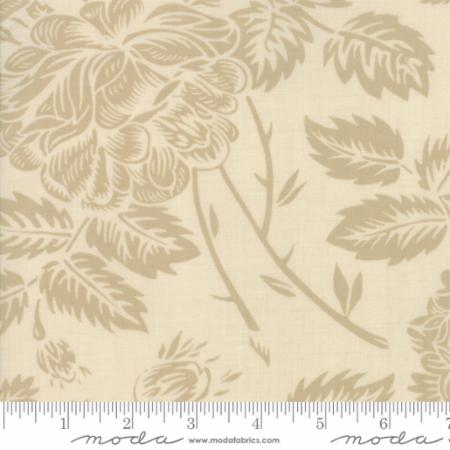 Moda Fabrics - Clover Hollow - Large Floral - Pearl