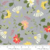 Moda Fabrics - Clover Hollow - Large Floral - Shadow