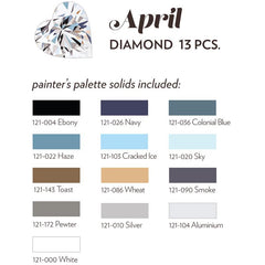APRIL BIRTHSTONE FABRIC BUNDLE - DIAMOND