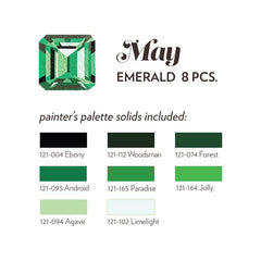 MAY BIRTHSTONE FABRIC BUNDLE - EMERALD