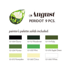 AUGUST BIRTHSTONE FABRIC BUNDLE - PERIDOT
