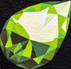 August Birthstone Block: Peridot