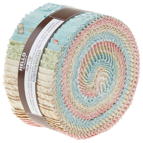 Robert Kaufman Paris Romance By Tre Sorelle Studios Garden Roll-up - 40 Strip Roll