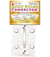 Quilt Ruler Connector with Alignment