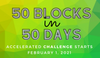 Image of 50 Blocks ACCELERATED Challenge + Book