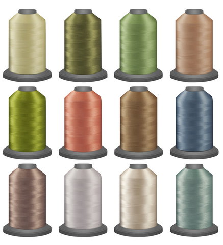 Glide Master Thread Collections - Blenders - Sparrow Quilt Co.