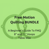 Image of Free Motion Quilting Bundle