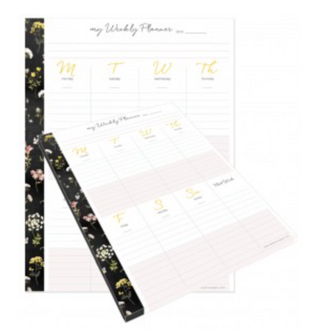 Weekly Planner Tear Away Pad - My Happy Place
