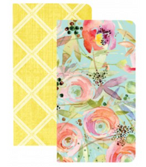Set of Two - Traveler Notebook - Trellis & Flowers