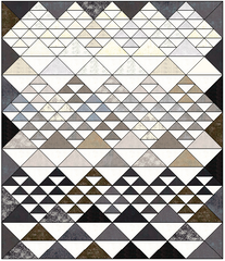 Head For the Mountains Quilt Kit