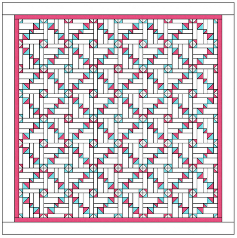 Candy Wrapper Quilt PDF Pattern