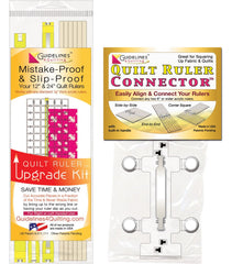 Quilt Ruler Upgrade Kit + Quilt Ruler Connector Combo