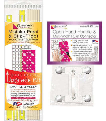 Handle + Quilt Ruler Upgrade Kit Combo