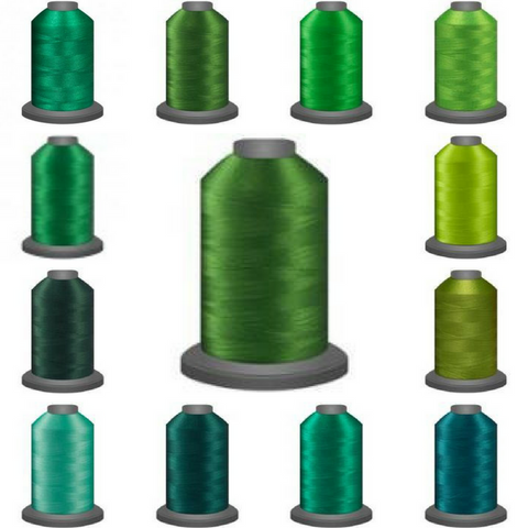Glide Master Thread Collections - Green With Envy