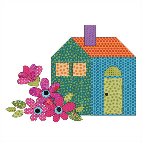 Our House - Block #2 - Applique