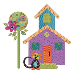 Our House - Block #5 - Applique