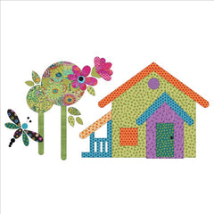 Our House - Block #8 - Applique