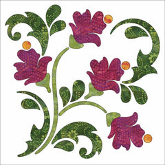 Blossoms - Block - Winter - Applique