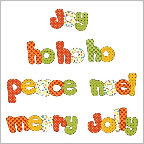 Christmas Greetings - Applique