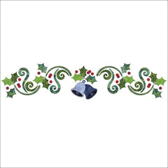 Deck the Halls - Panel - Applique