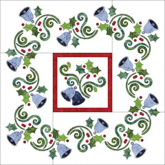 Deck the Halls Quilt - Applique