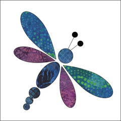 Dragonfly - Batik - Applique