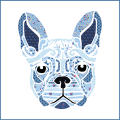 Fleur the Frenchie - Quilt Kit