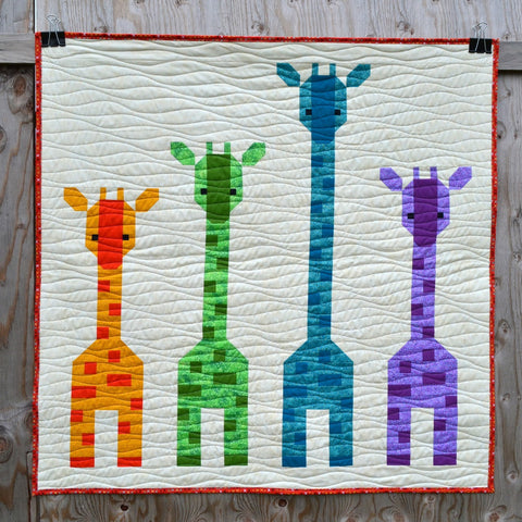 Giraffes in a Row Kit by Lorna McMahon