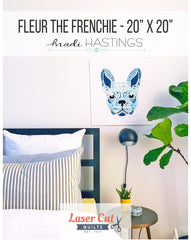 Fleur the Frenchie Quilt Pattern
