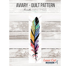 Aviary - Laser Cut Applique Quilt Kit