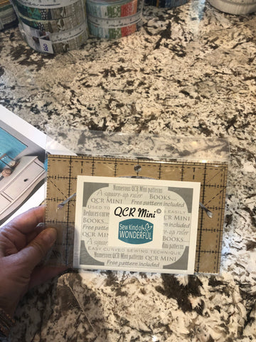 Quick Curve Mini Ruler - Sew Kind of Wonderful
