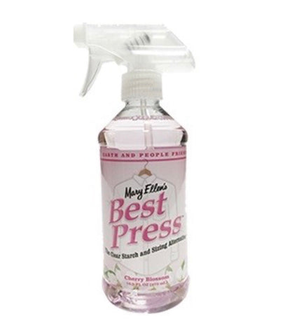 Best Press Starch Spray Bottle Cherry Blossom Scent 473ml