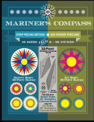 32 Point Mariners Compass Ruler and Book