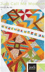 Just Call me Modern Quilt Pattern - Judi Madsen