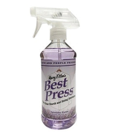 Best Press Starch Spray Bottle Lavender Scent 473ml