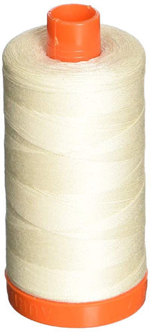 Aurifil Chalk 50 wt Cotton Thread