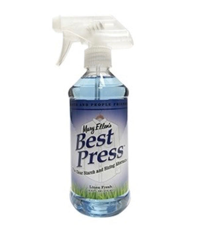 Best Press Starch Spray Bottle Linen Scent 473ml