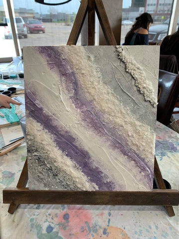 Geode Paint Night June 22,2019