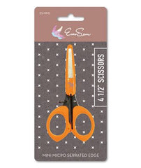 "EverSewn 4 1/2"" Mini Micro-serrated Edge Scissors"