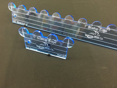 1 Inch Scallop Ruler Set